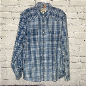 Lucky brand western style Flannel